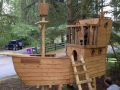 Pirate ship - Robin Wood
